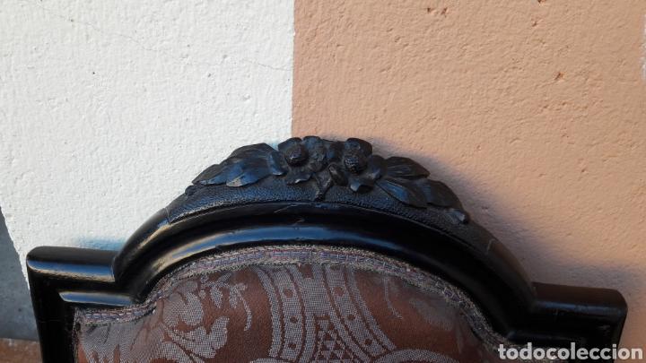 Antigüedades: Antiguas sillas isabelinas - Foto 3 - 145855118