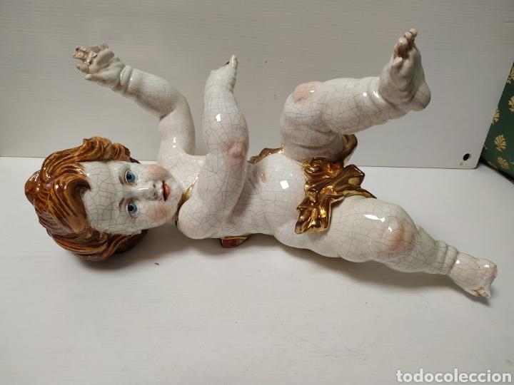 FIGURA ANGEL DE PORCELANA ALGORA A RESTAURAR (Antigüedades - Porcelanas y Cerámicas - Algora)