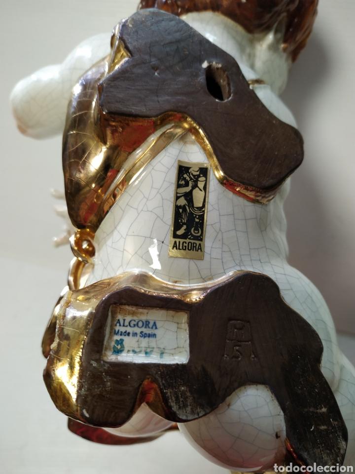 Antigüedades: Figura angel de porcelana Algora a restaurar - Foto 4 - 145873478