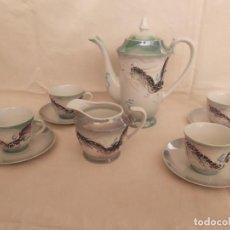 Antigüedades: JUEGO CAFÉ - TE PORCELANA - JAPÓN. Lote 145884090