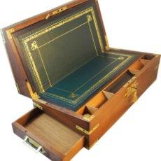 Antigüedades: ESCRITORIO DE CAMPAÑA INGLÉS. C. 1810. Lote 145900214