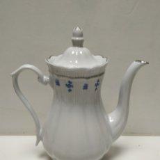 Antigüedades: CAFETERA DE PORCELANA. Lote 145911930