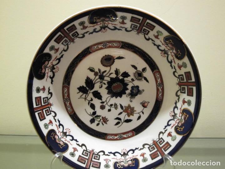 Bandeja Imari Marca Double Phoenix Nikko Ironst Comprar Porcelana