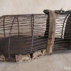 Antigüedades: ANTIGUA JAULA PARA HURON RESTAURADA!. Lote 145946646