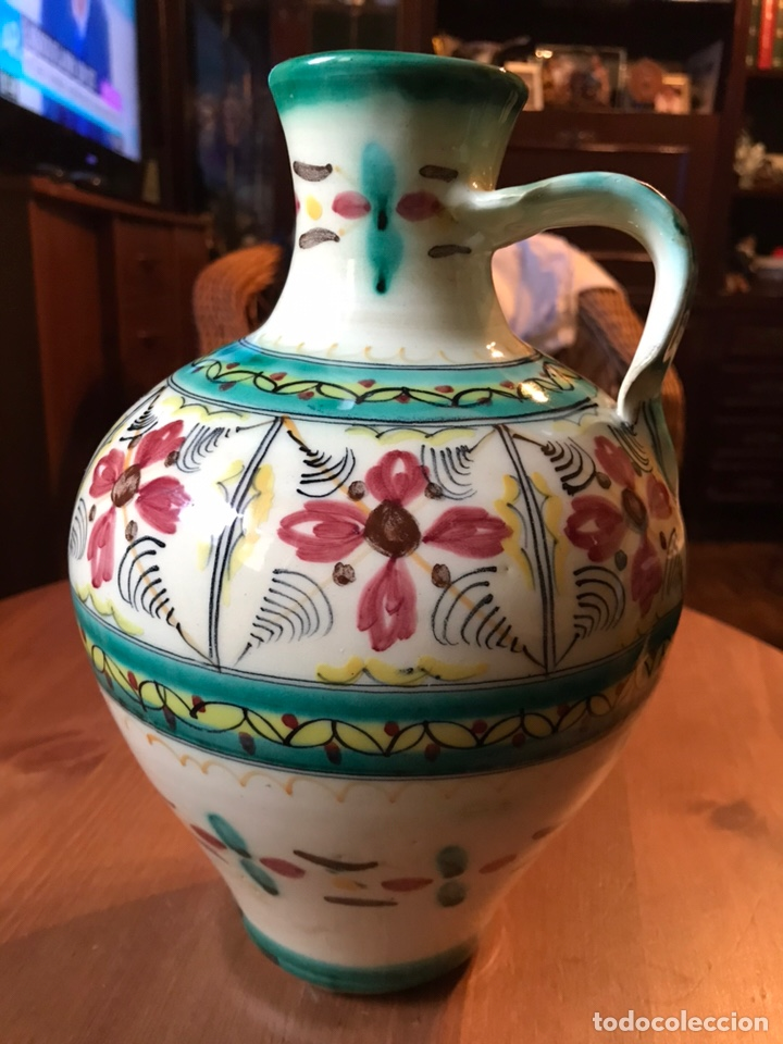 Antigüedades: Cántaro de cerámica de Puente del Arzobispo - Foto 2 - 145968294