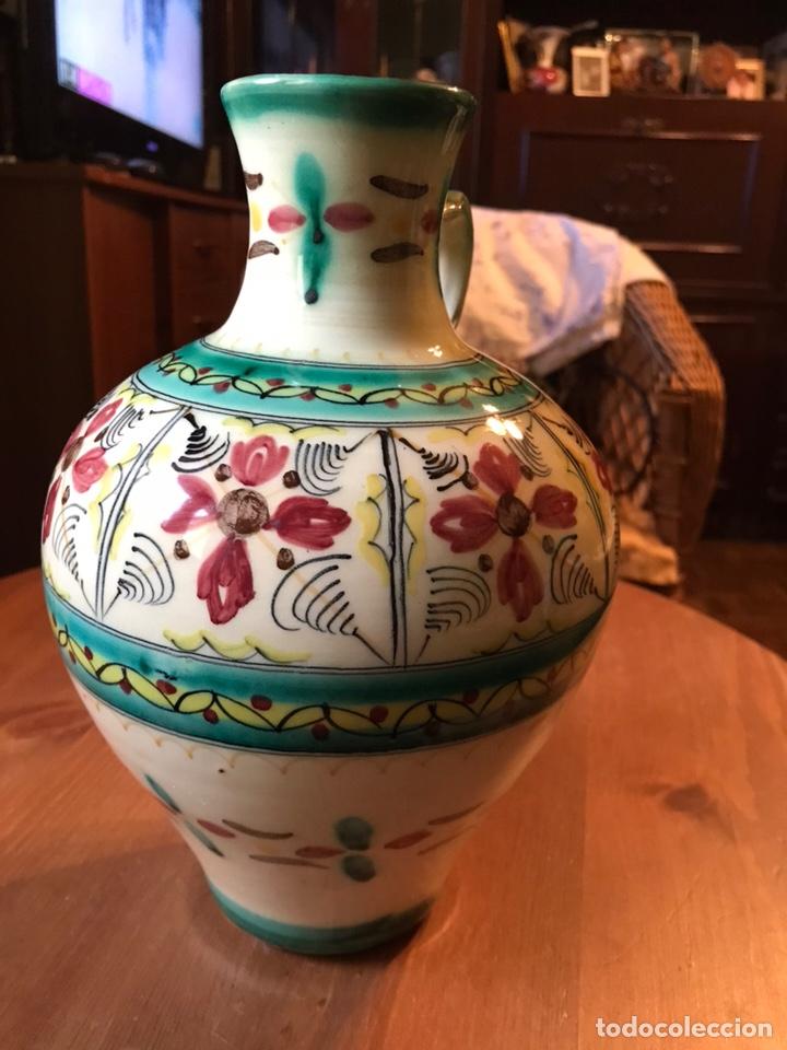 Antigüedades: Cántaro de cerámica de Puente del Arzobispo - Foto 4 - 145968294