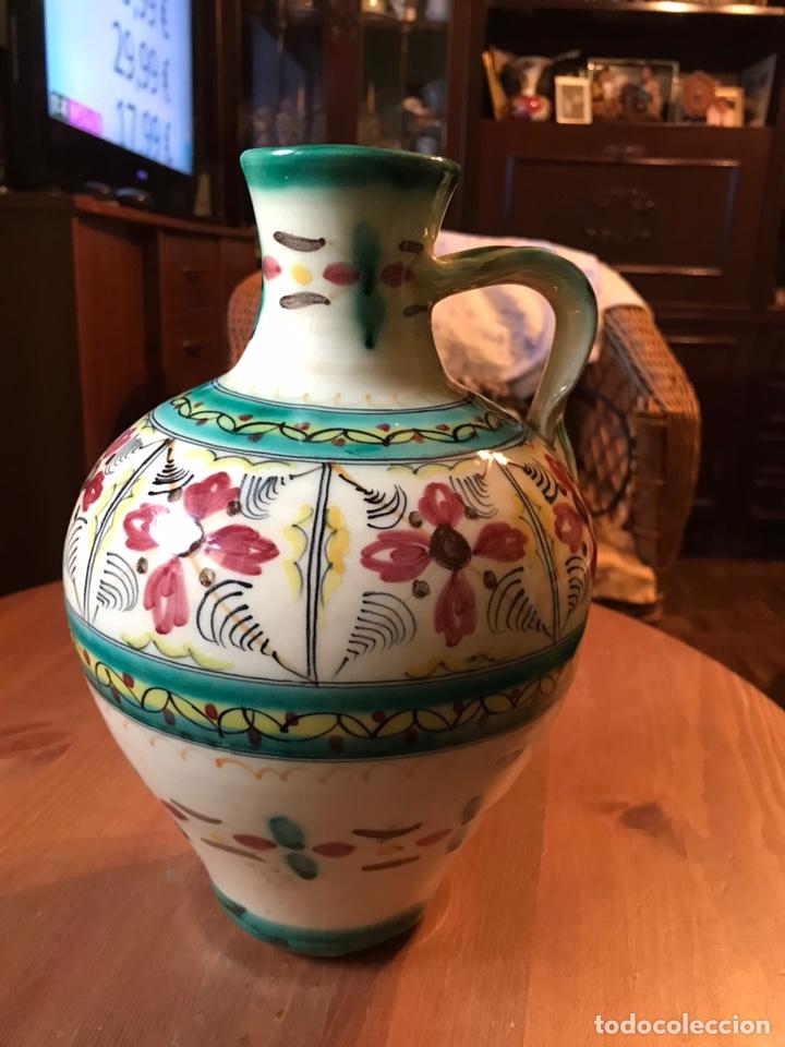 Antigüedades: Cántaro de cerámica de Puente del Arzobispo - Foto 5 - 145968294