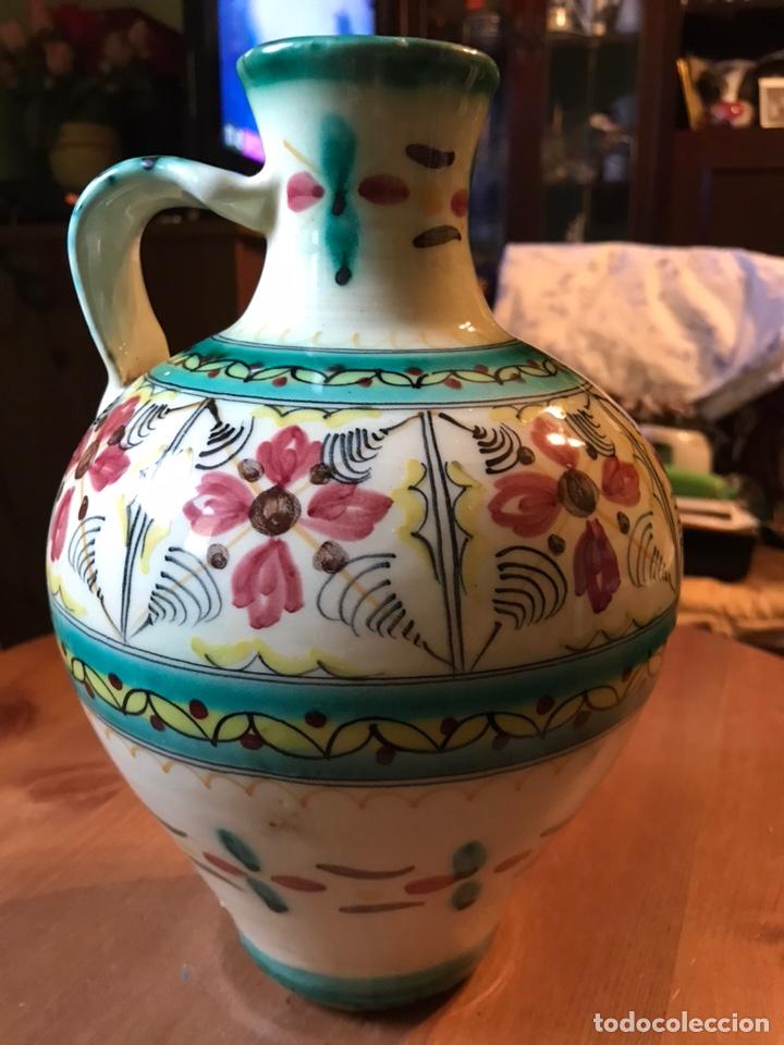 Antigüedades: Cántaro de cerámica de Puente del Arzobispo - Foto 6 - 145968294