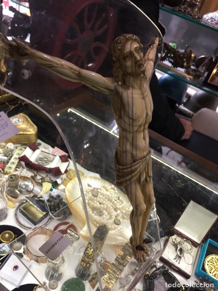Antigüedades: CRISTO DE MARFIL, CERTIFICADO DE GARANTIA GAC. - Foto 6 - 76948041