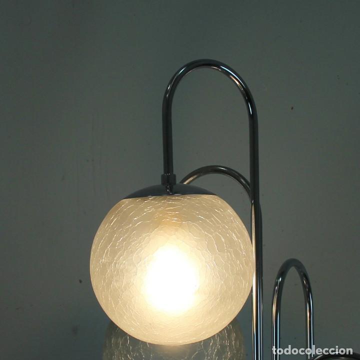 Antigüedades: Lámpara de pie de 5 tulipas. - Foto 4 - 145997326