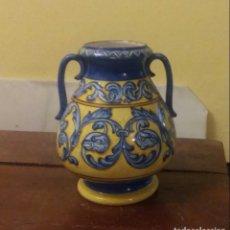 Antigüedades: JARRÓN DE TALAVERA. Lote 146002086