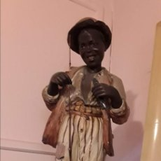 Antigüedades: NIÑO PESCANDO. Lote 152233673