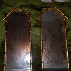 Antigüedades: PAREJA DE CORNUCOPIAS. PRINCIPIOS DE SIGLO . Lote 146022194