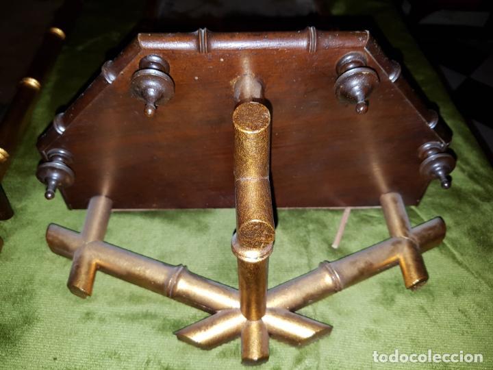 Antigüedades: PAREJA DE CORNUCOPIAS. PRINCIPIOS DE SIGLO - Foto 5 - 146022194