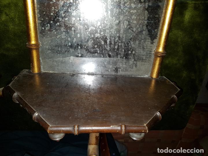 Antigüedades: PAREJA DE CORNUCOPIAS. PRINCIPIOS DE SIGLO - Foto 7 - 146022194