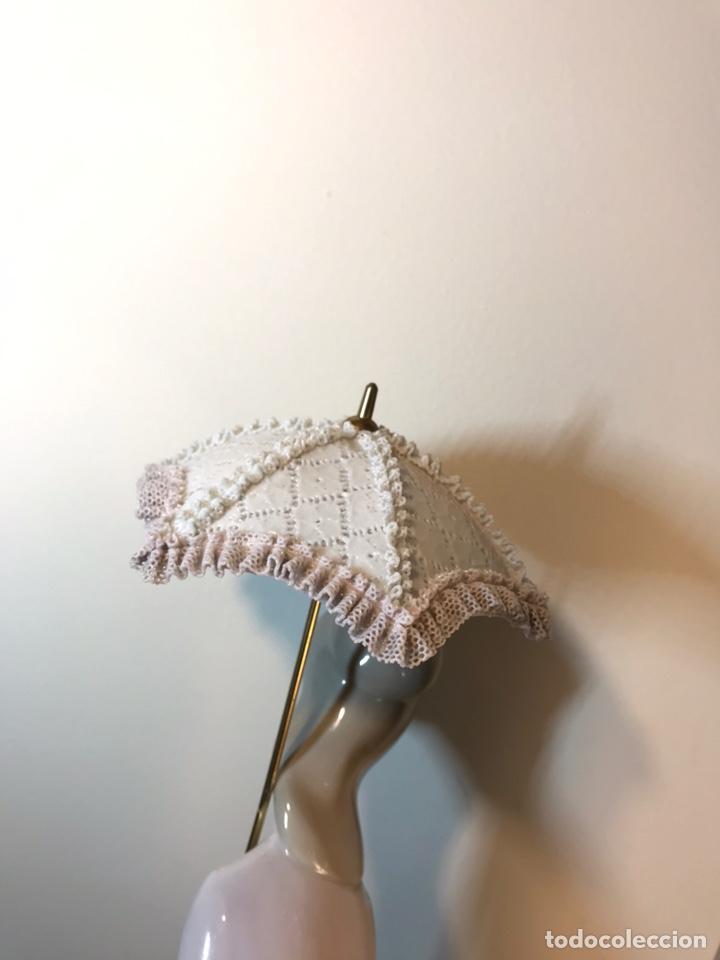 Antiques: Figura Porcelana- Lladró-Grupo con Sombrilla- 50 cm - Foto 26 - 146071933