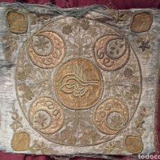Antigüedades: ANTIGUA Y RARA PALIA BORDADA DE SEDA BORDADA.. Lote 146078701