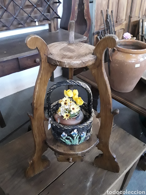 MACETERO RINCONERA (Antigüedades - Hogar y Decoración - Maceteros Antiguos)