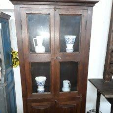 Antigüedades: ALACENA O VITRINA. Lote 146118813