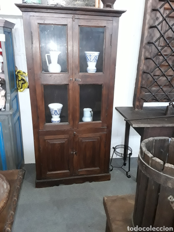 Antigüedades: Alacena o vitrina - Foto 2 - 146118813