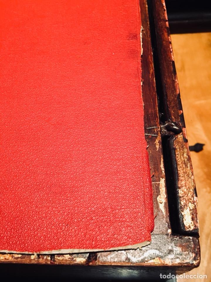 Antigüedades: Bargueño, cajón secreto, llave original. - Foto 11 - 134775359