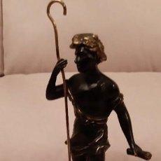 Antigüedades: ESCULTURA DE BRONCE. Lote 146146978