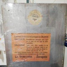 Antigüedades: ESPEJO PLATEADO LA VENECIANA.. Lote 146156174