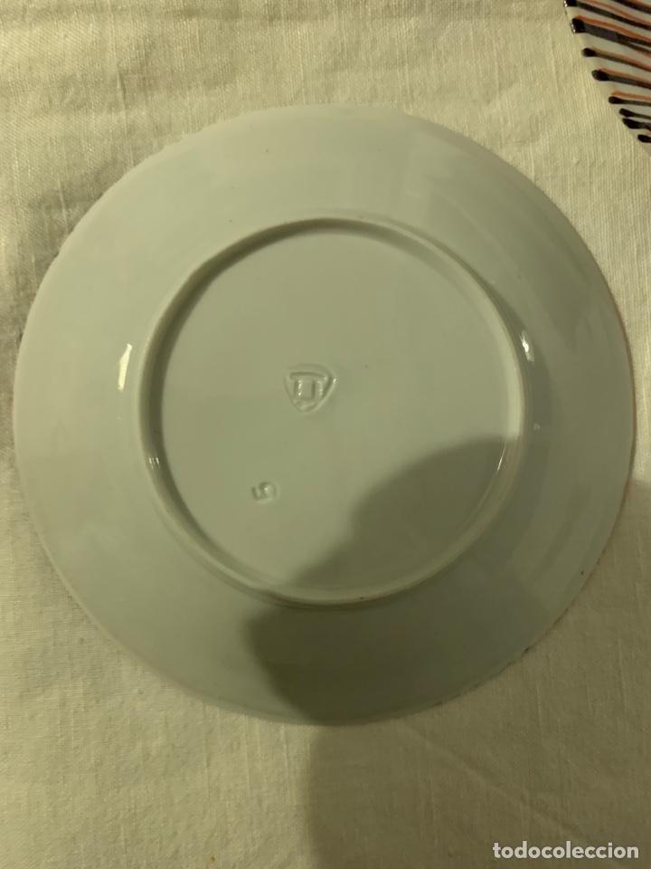Antigüedades: Tres platos de café del Castro de Sargadelos - Foto 3 - 146162592