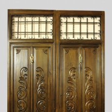 Antiquitäten - Puerta antigua de exterior restaurada - 145172218