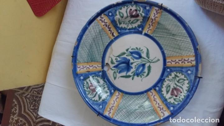 PLATO CERÁMICA (Antigüedades - Porcelanas y Cerámicas - Manises)