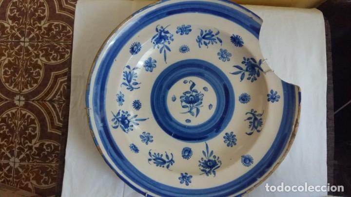 PLATO CERÁMICA DE MANISES (Antigüedades - Porcelanas y Cerámicas - Manises)