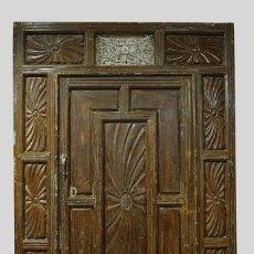 Antigüedades: PUERTA ANTIGUA DE EXTERIOR. Lote 146249350