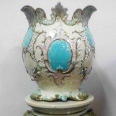 Antigüedades: TIBOR LOZA CELESTE. Lote 146278950