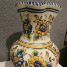 Antigüedades: JARRA CERÁMICA MUY ANTIGUA DE MARÍA TALAVERA 26 CM. MUY BONITA.. Lote 146298470
