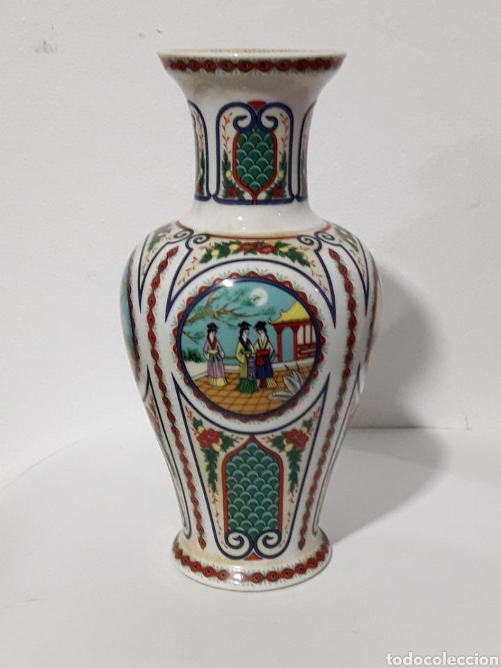 JARRON JAPONES 22CM (Antigüedades - Hogar y Decoración - Jarrones Antiguos)