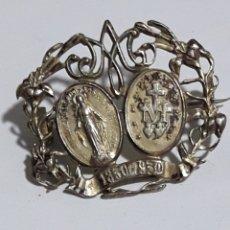 Antigüedades: ANTIGUO BROCHE RELIGIOSO. Lote 146309954