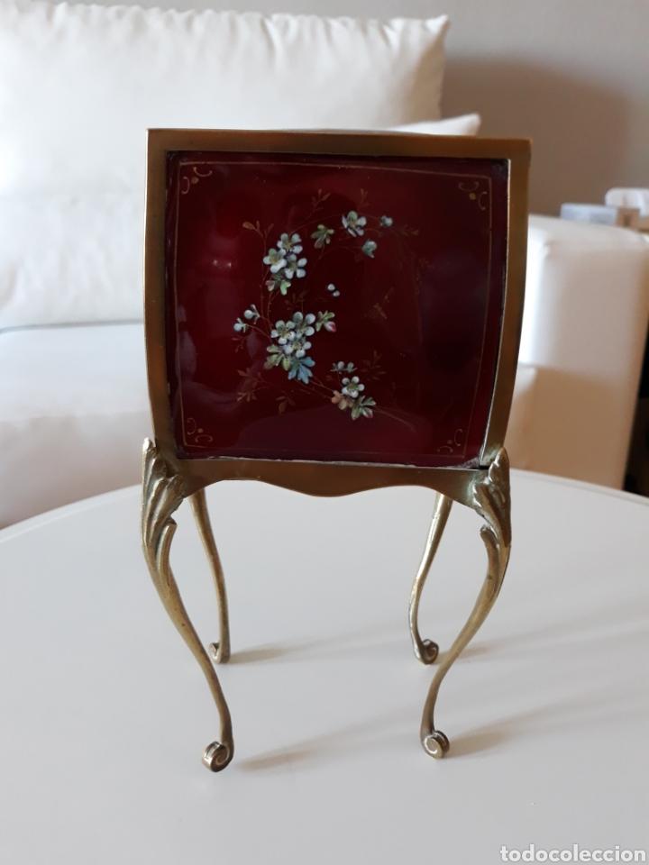 Antiquitäten: Joyero italiano esmalte estilo liberty - Foto 4 - 146313274