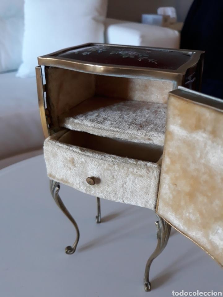 Antiquitäten: Joyero italiano esmalte estilo liberty - Foto 5 - 146313274