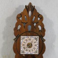 Antigüedades: RELOJ - ESPECIERO EN MADERA - MUEBLE DE ALMIREZ. Lote 146324694