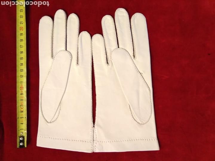 Antigüedades: Guantes de piel principio siglo XX - Foto 4 - 146342449