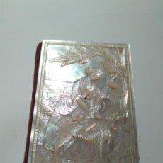 Antigüedades: CARNET DE BAILE. TAPAS DE NÁCAR CON RELIEVE. S.XIX. Lote 146364930