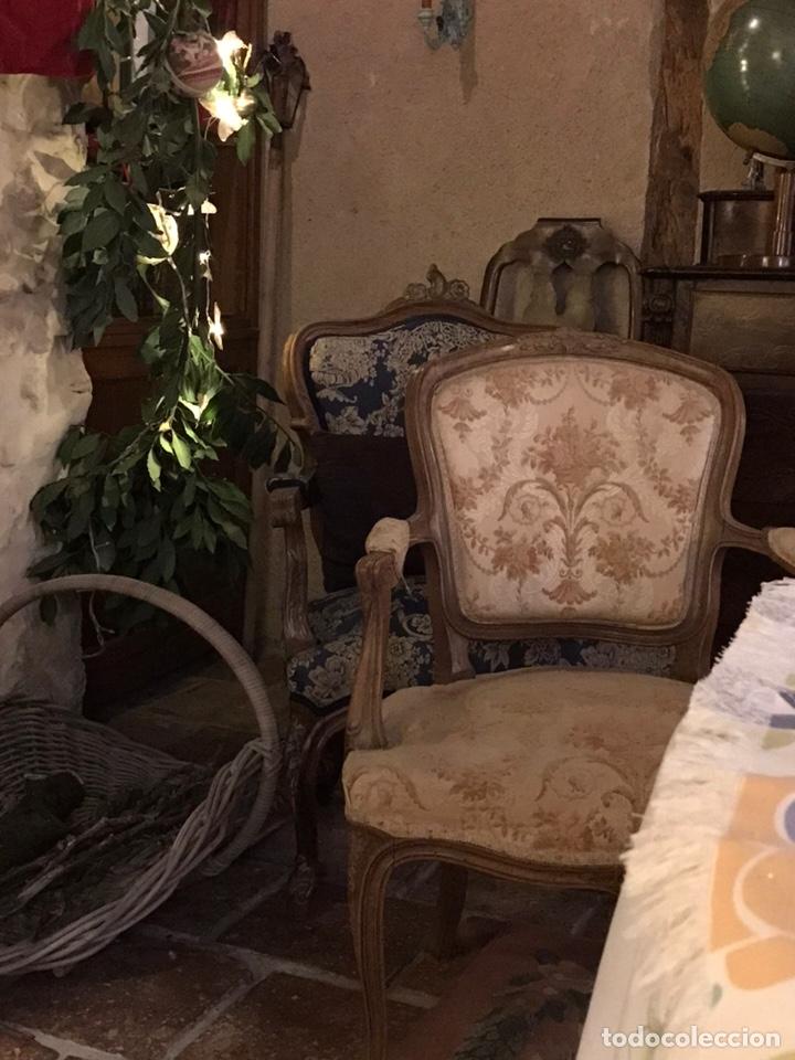 Antigüedades: Sillones Luises con diván - Foto 2 - 146390504