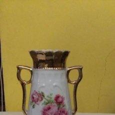 Antigüedades: BUCARO PINTADO CON ORO. Lote 146393270