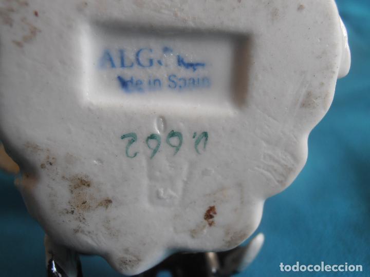 Antigüedades: 2 GALLOS ALGORA, 14 Y 15 CM DE ALTO - Foto 5 - 146393330