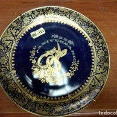 Antigüedades: PLATO DECORACIÓN DECORADO A MANO ORO DE LEY. Lote 146422934