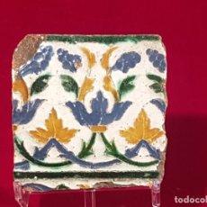 Antigüedades: AZULEJO MUDEJAR TRIANA O TOLEDO SIGLO XVI. Lote 146423838