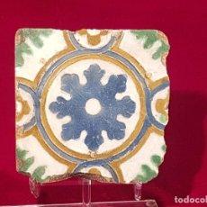 Antigüedades: AZULEJO MUDEJAR TRIANA O TOLEDO SIGLO XVI. Lote 146424358