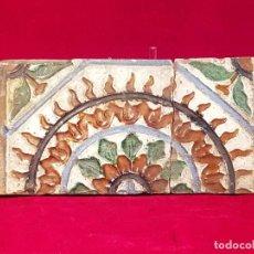 Antigüedades: AZULEJO MUDEJAR TRIANA O TOLEDO SIGLO XVI. Lote 146426638