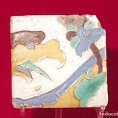 Antigüedades: AZULEJO MUDEJAR TRIANA O TOLEDO SIGLO XVI. Lote 146427770