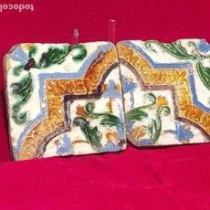 Antigüedades: AZULEJO MUDEJAR TRIANA O TOLEDO SIGLO XVI. Lote 146426138